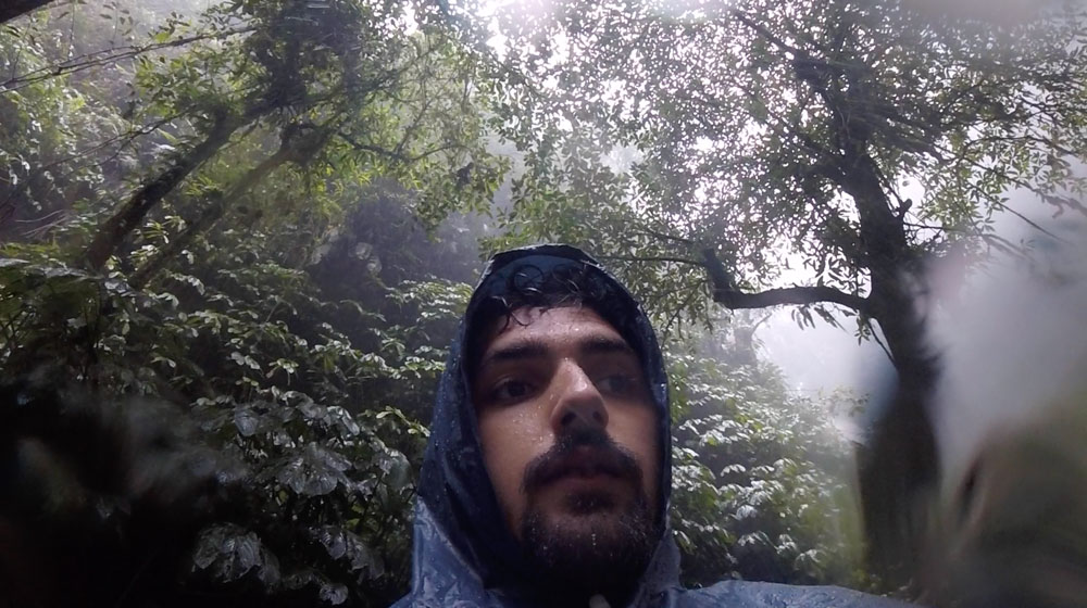 moi sous la pluie