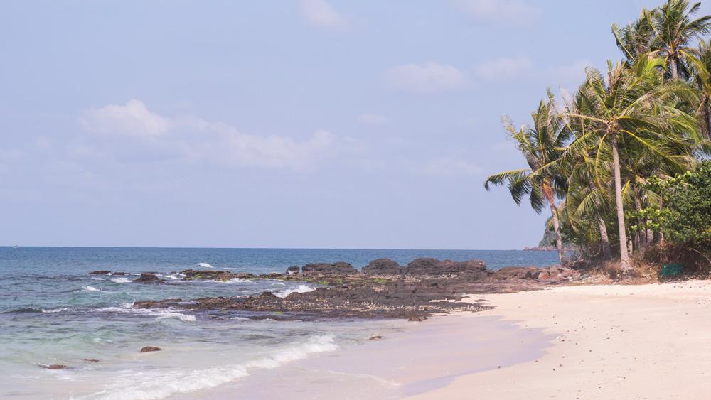 Les plages sont magnifiques ici