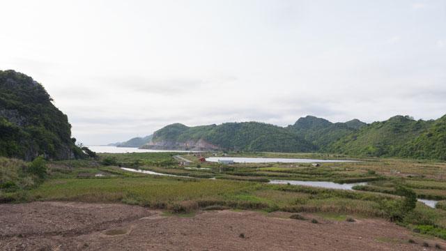 Les paysages que l'on trouve sur l'île.