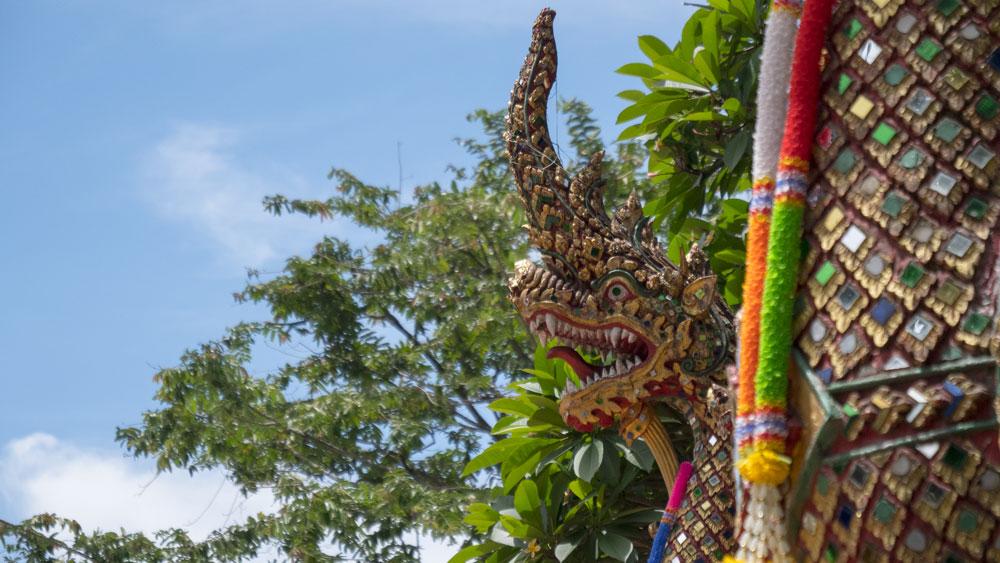 L'entrée du Wat Phrathat Doi Suthep