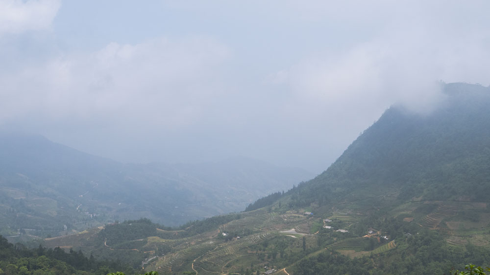 Les montagnes autour de nous